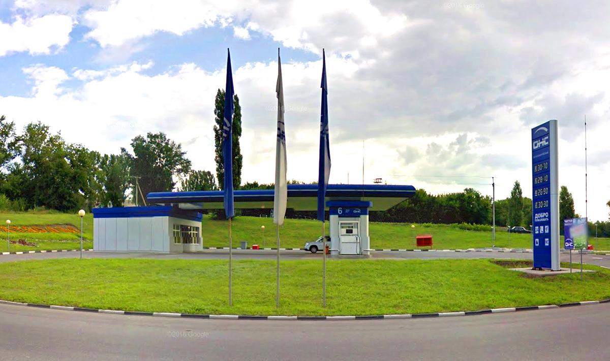 Реконструкция АЗС в городе Губкине